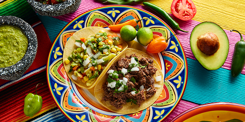 Five Mexican Foods
