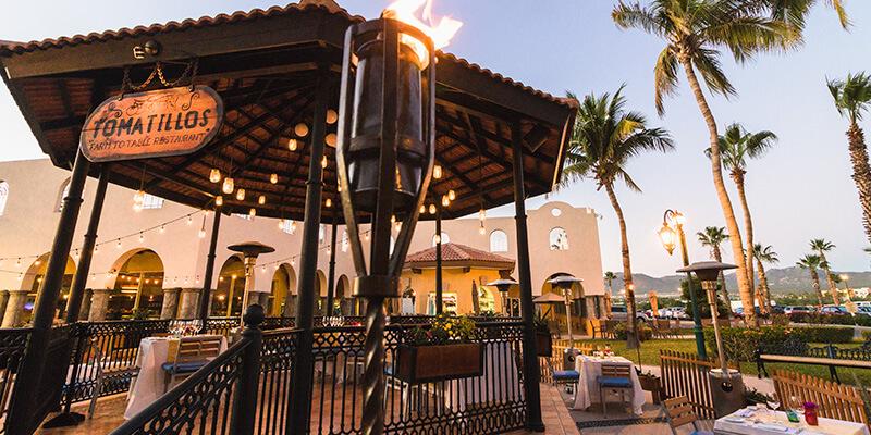 Tomatillos Restaurant At Villa Del Palmar Cabo