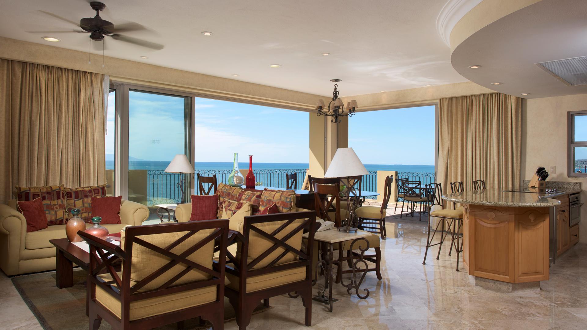 Three Bedroom Suite Ocean Front Villa La Estancia Beach Resort & Spa Riviera Nayarit