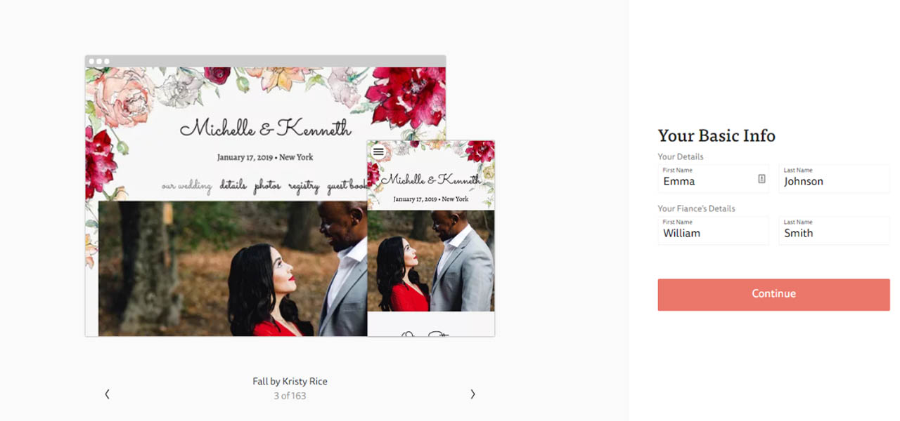 The Knot Wedding Websites.A Guide To Building A Free Wedding Website