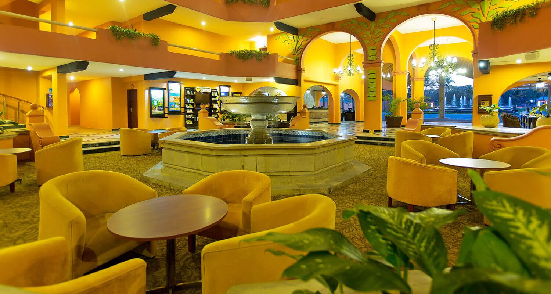 Lobby Villa Del Palmar Puerto Vallarta