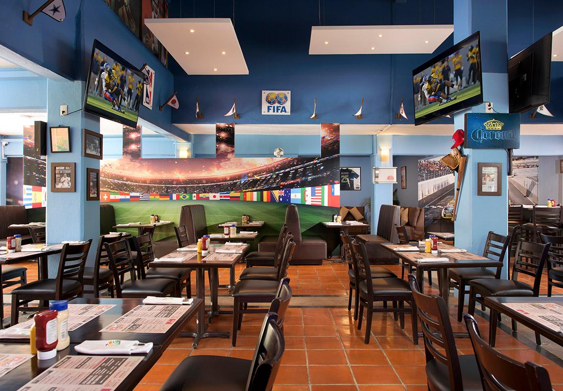 Sport Bar Villa Del Palmar Puerto Vallarta
