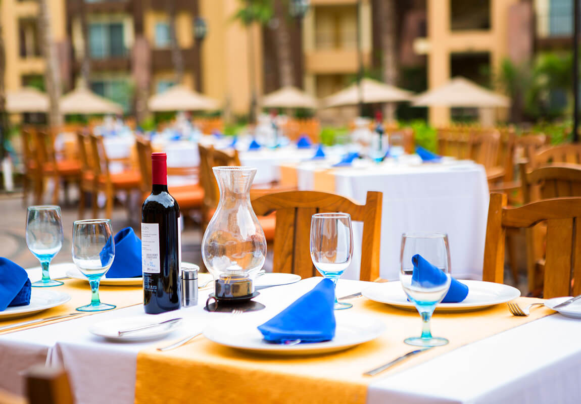 Villa Del Arco Cabo San Lucas American Grill Restaurant