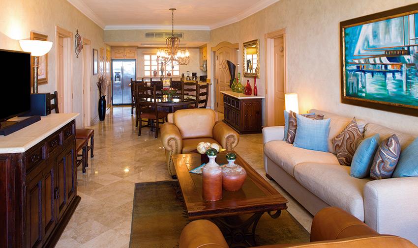 Three Bedroom Suite Villa La Estancia Beach Resort & Spa, Los Cabos