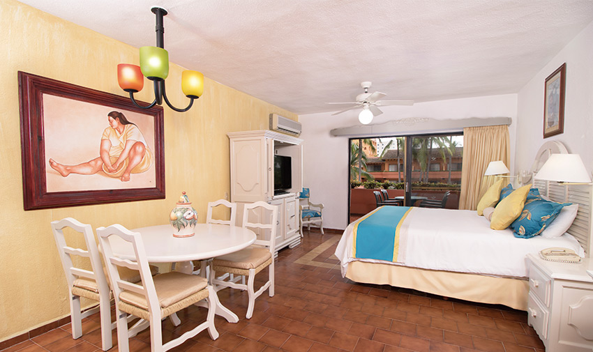 Junior Suite Villa del Mar Beach Resort & Spa Puerto Vallarta