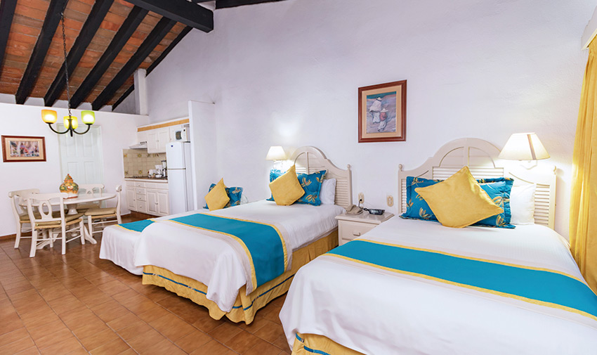 Junior Family Suite Villa del Mar Beach Resort & Spa Puerto Vallarta