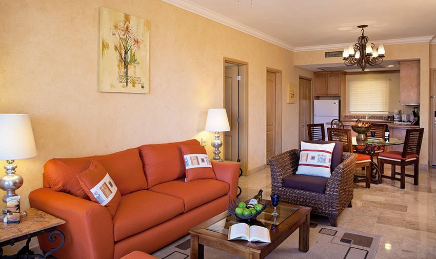 Unique One Bedroom Suite Ocean View Villa del Palmar Flamingos Beach Resort & Spa Riviera Nayarit