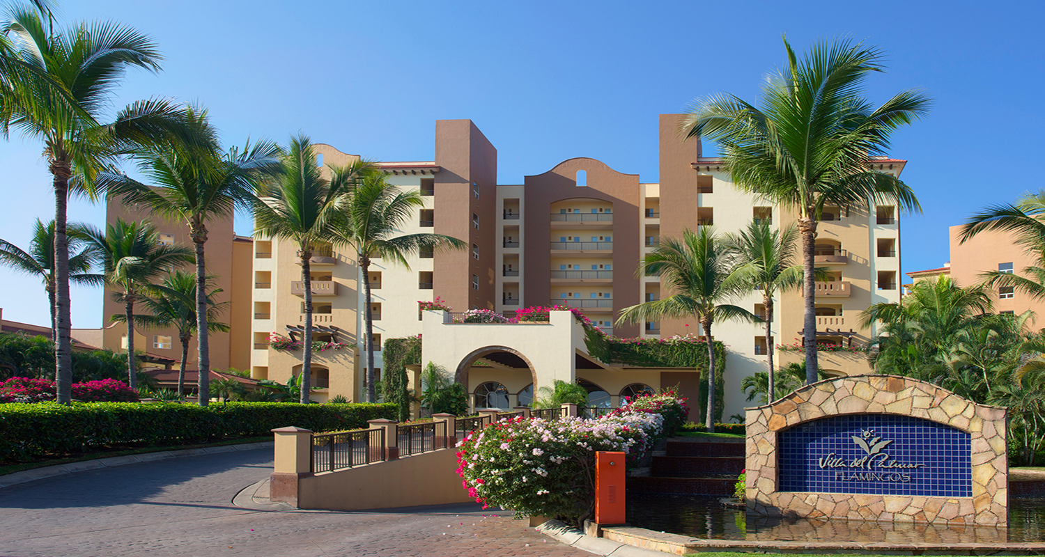 Villa Del Palmar Flamingos Riviera Nayarit Entrance  Copia