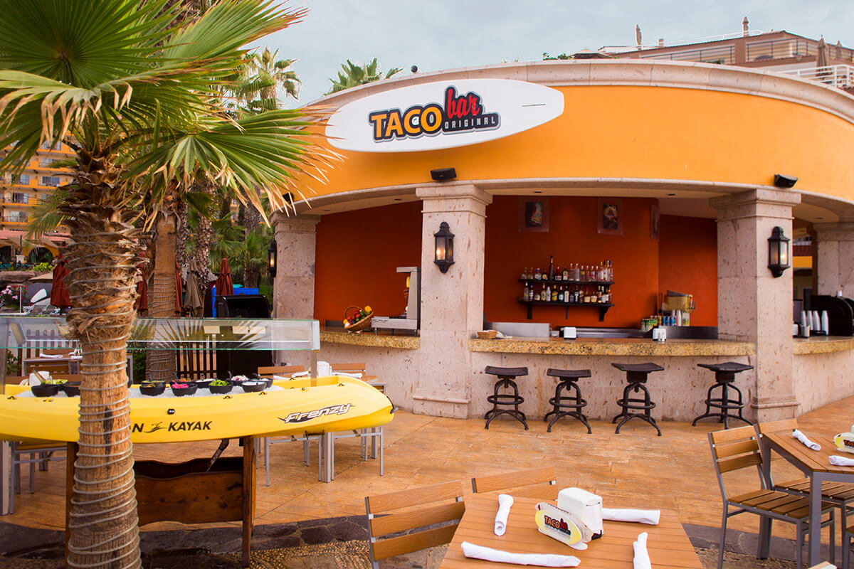 Taco Bar Villa Del Palmar Cabo San Lucas