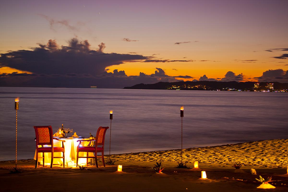 Villa La Estancia Riviera Nayarit Sunsent Dinner