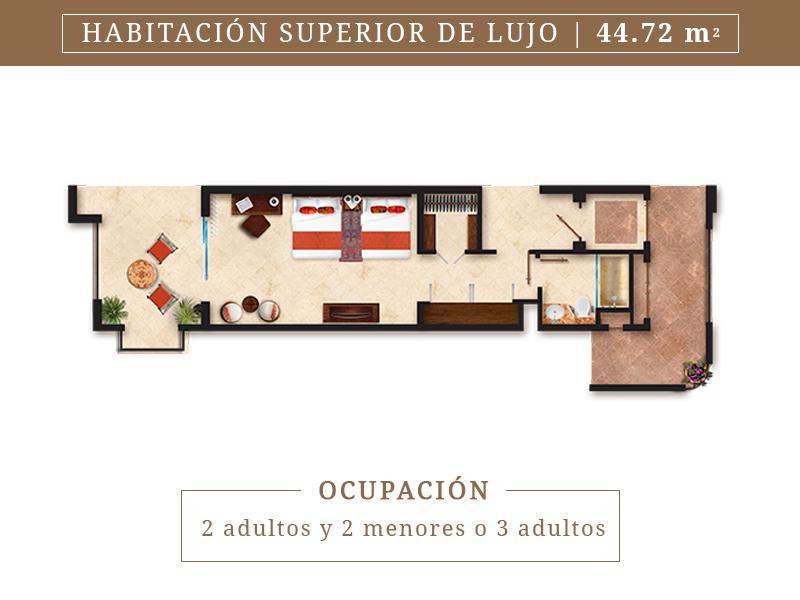 Habitacion Superior De Lujo