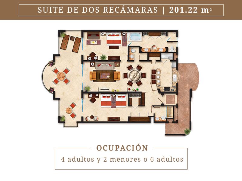 Suite De Dos Recamaras