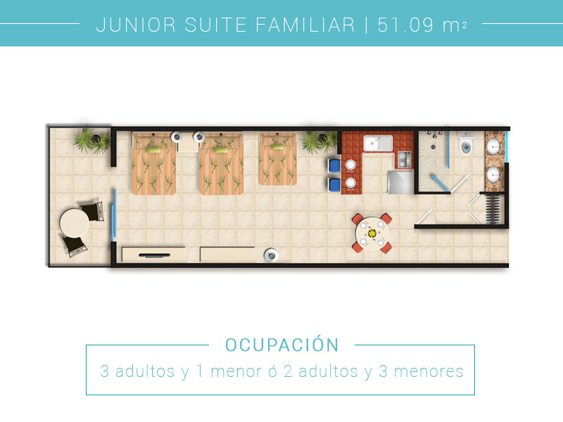 Junior Suite Familiar