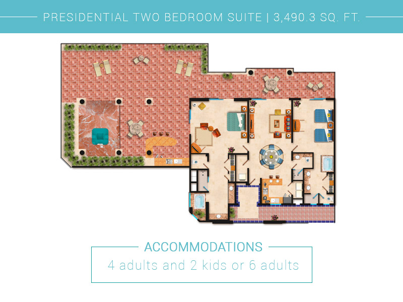 Presidential Two Bedroom